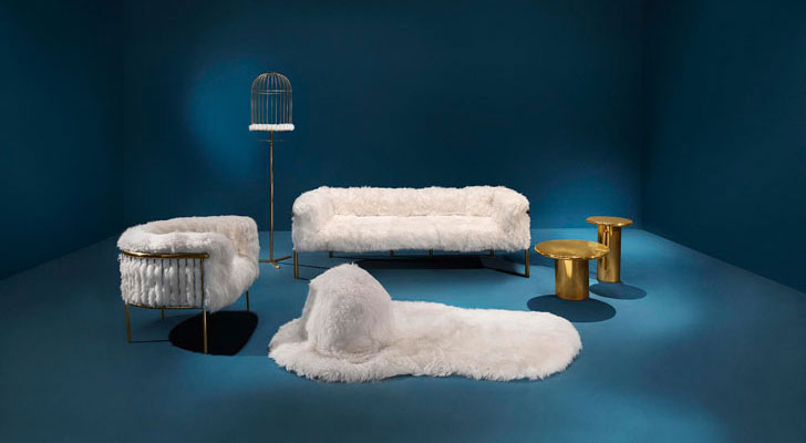 """snow white collection milandesignweek 18 scarlet splendour indiaartndesign"""