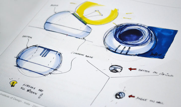 """Bulb holder sketches by designer paul sandip indiaartndesign"""