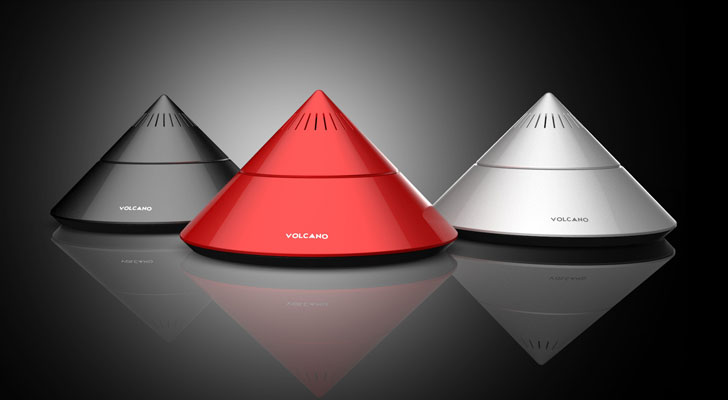 """volcano speakers designer paul sandip indiaartndesign"""