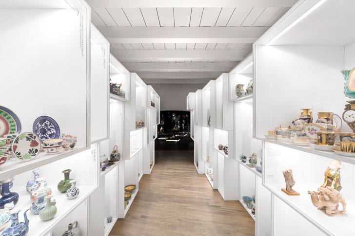 """display white boxes princesshof ceramics museum i29 interior architects indiaartndesign"""