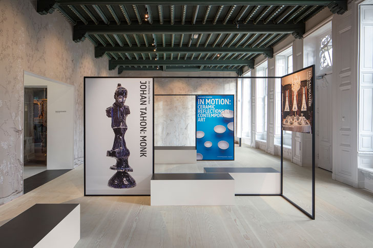 """modern display features princesshof ceramics museum i29 interior architects indiaartndesign"""