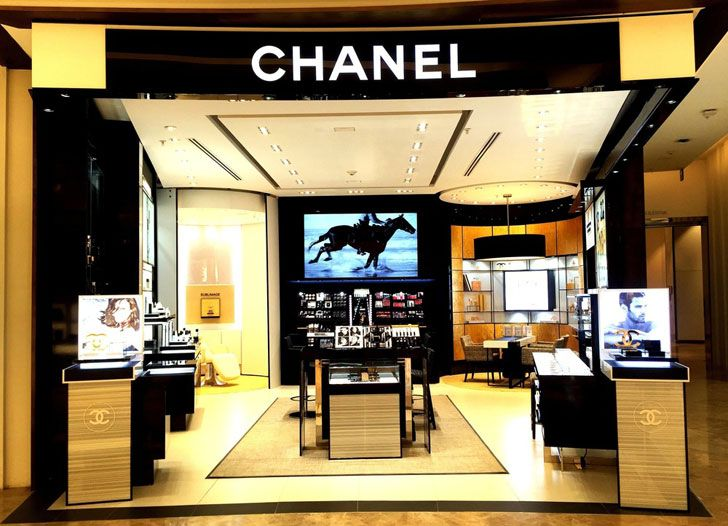 """Chanel Mexico boutique BIRKA indiaartndesign"""