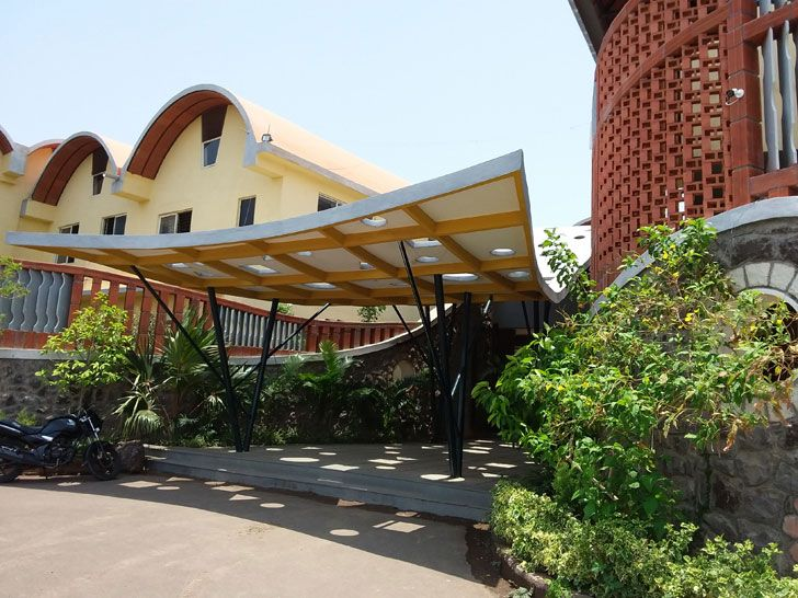 """Tungal school building BSB architects indiaartndesign"""
