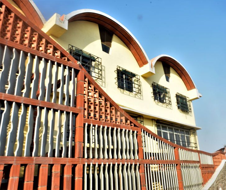 """screen Tungal school building BSB architects indiaartndesign"""