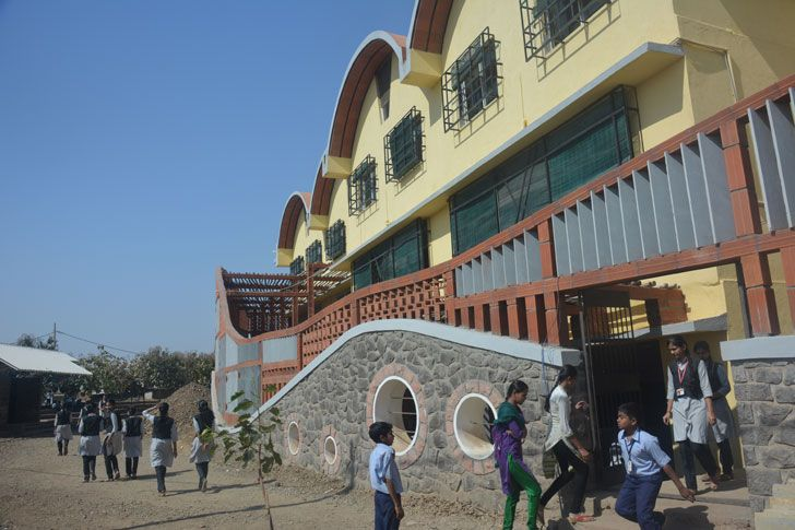 """seminal halls Tungal school building BSB architects indiaartndesign"""