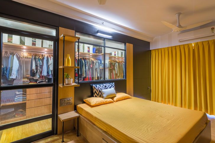 """master bedroom duplex residence by between spaces architects indiaartnesign"""