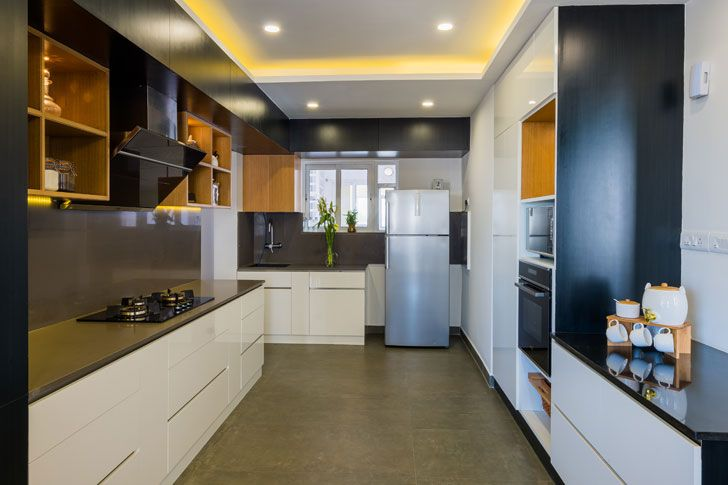 """kitchen duplex residence by between spaces architects indiaartnesign"""
