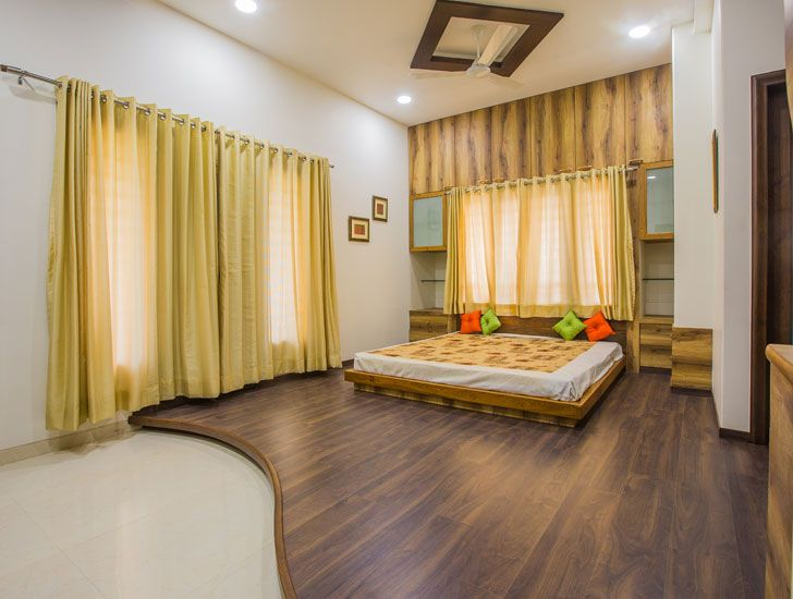 """bedroom bungalow bharuch chitte associates indiaartndesign"""