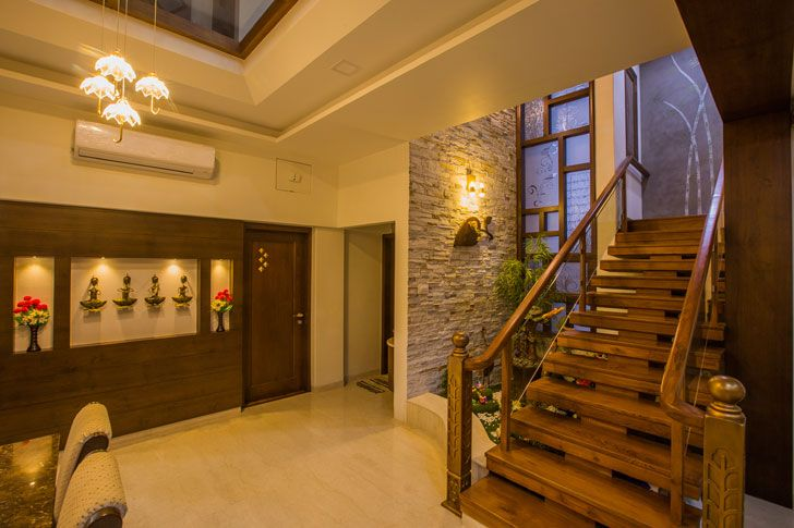 """foyer bungalow bharuch chitte associates indiaartndesign"""