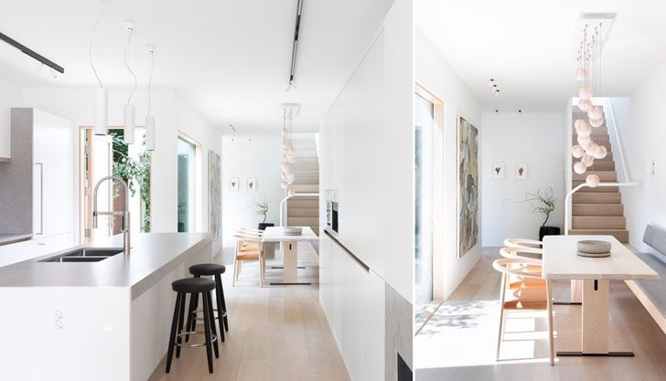 """dining and kitchen vancouver home falken reynolds interiors indiaartndesign"""