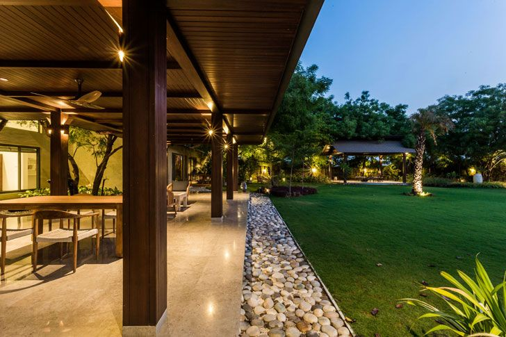"""inside outside equation timeless home Hiren Patel Architects indiaartndesign"""