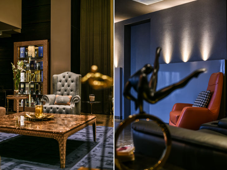"""bespoke decor luxury penthouse KNS architects indiaartndesign"""