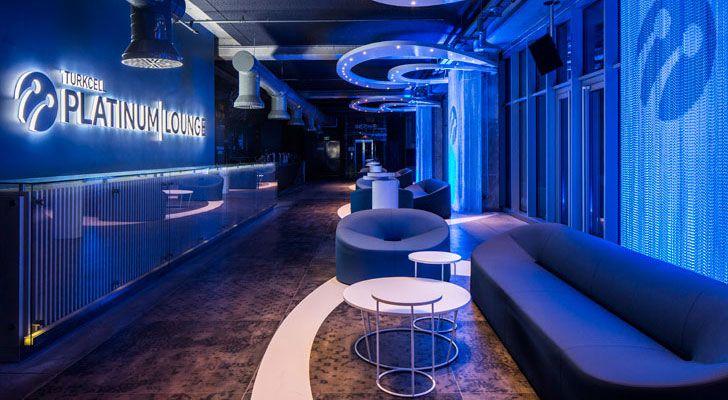 """Turkcell Platinum Lounge Mimari studio indiaartndesign"""