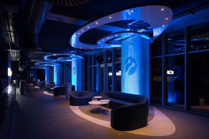 """lighting design Turkcell Platinum Lounge Mimari studio indiaartndesign"""