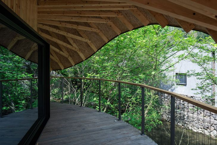 """deck tree wow monoarchi architects indiaartndesign"""