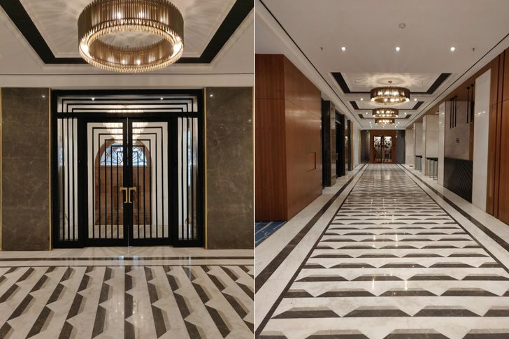 """entrance lobby Bombay House Somaya Kalappa Architects Indiaartndesign"""