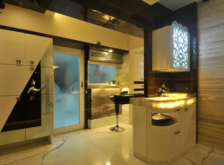 """breakfast counter home interior SSA design studio indiaartndesign"""