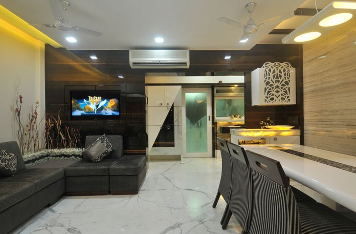 """living dining home interior SSA design studio indiaartndesign"""
