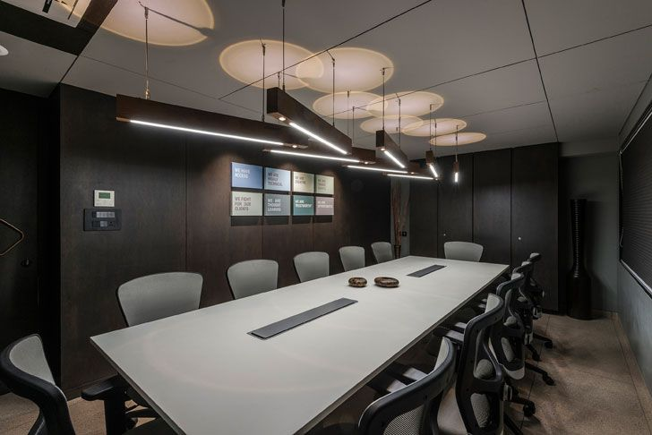 """conference room coolline agency sharan architecture n design indiaartndesign"""
