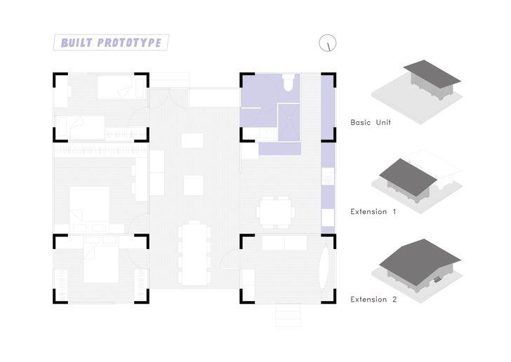 """built prototype AL BORDE+El Sindicato Arquitectura indiaartndesign"""