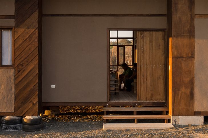 """open door AL BORDE+El Sindicato Arquitectura indiaartndesign"""