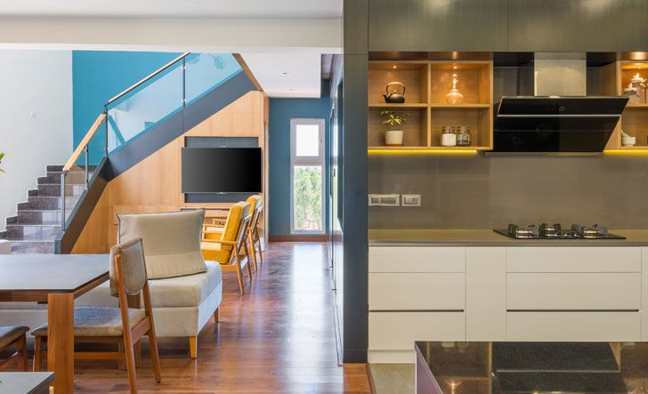 """open plan layout residence by between spaces architects indiaartndesign"""