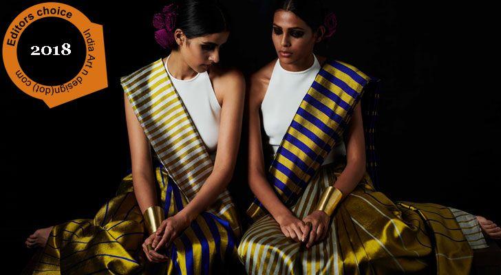 """Payal Khandwala reversible sari editors choice 2018 indiaartndesign"""