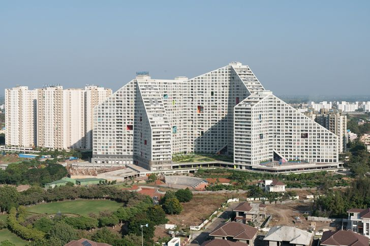 """future towers mvrdv indiaartndesign"""