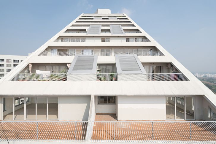 """inclines roof future towers mvrdv indiaartndesign"