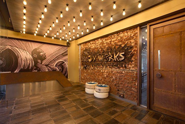 """entrance Bodyworks Space Dynamix Architects indiaartndesign"""