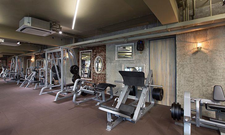 """main gym Bodyworks Space Dynamix Architects indiaartndesign"""