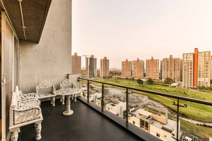 """balcony pune residence the Spatium Interiors indiaartndesign"""
