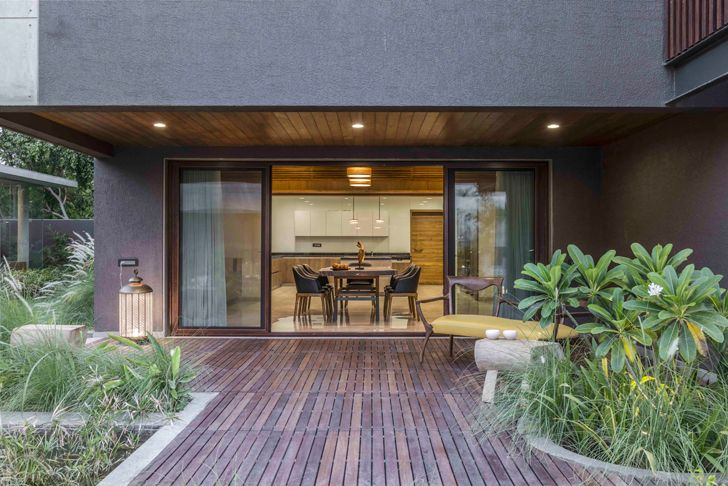 """deck ahmedabad home the grid architects indiaartndesign"""