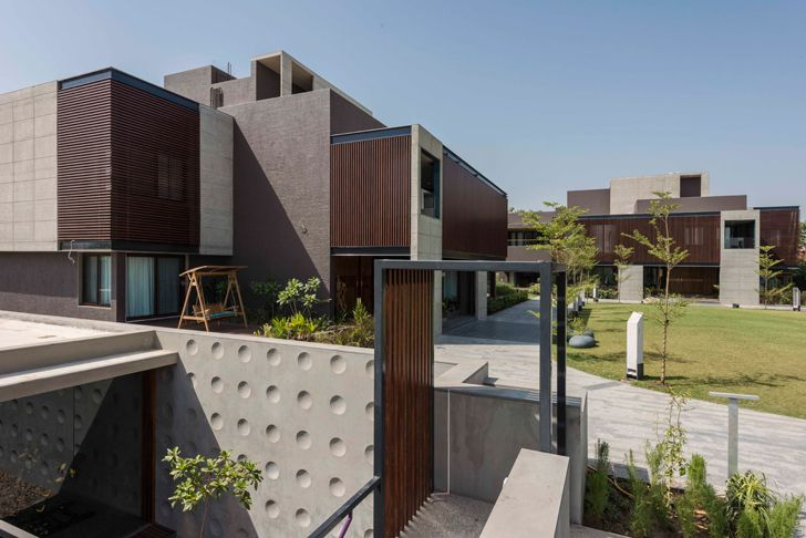 """the built forms ahmedabad home the grid architects indiaartndesign"""