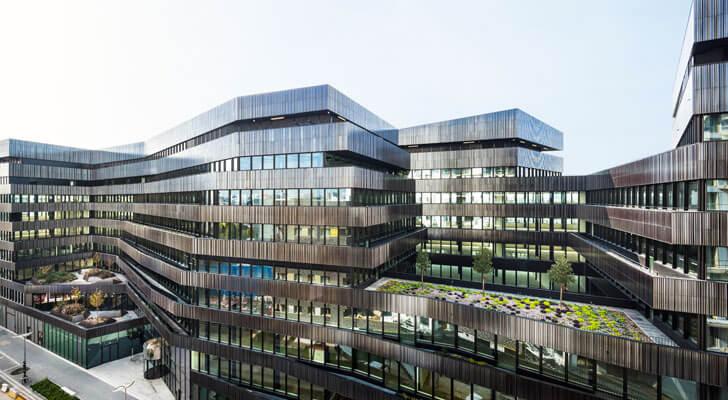 """Batignolles mixed use Chartierdalix Architects Brenac Gonzalez Associates indiaartndesign"""