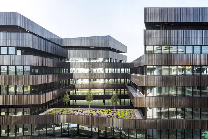 """""""continuous facade Batignolles mixed use Chartierdalix Architects indiaartndesign"""""""