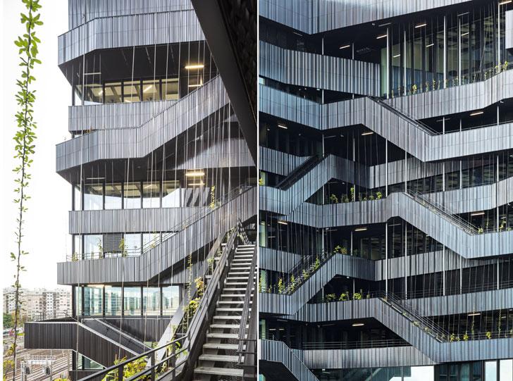 """levels Batignolles mixed use Chartierdalix Architects indiaartndesign"""