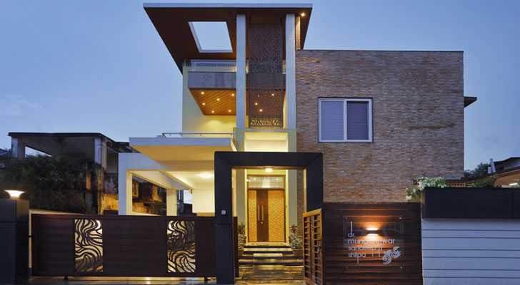 """chandrapur house cluster one indiaartndesign"""