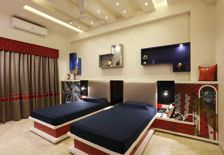 """children bedroom cluster one indiaartndesign"""