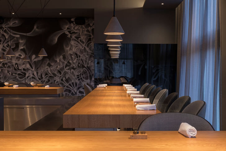 """display kitchen restaurant 212 concrete indiaartndesign"""