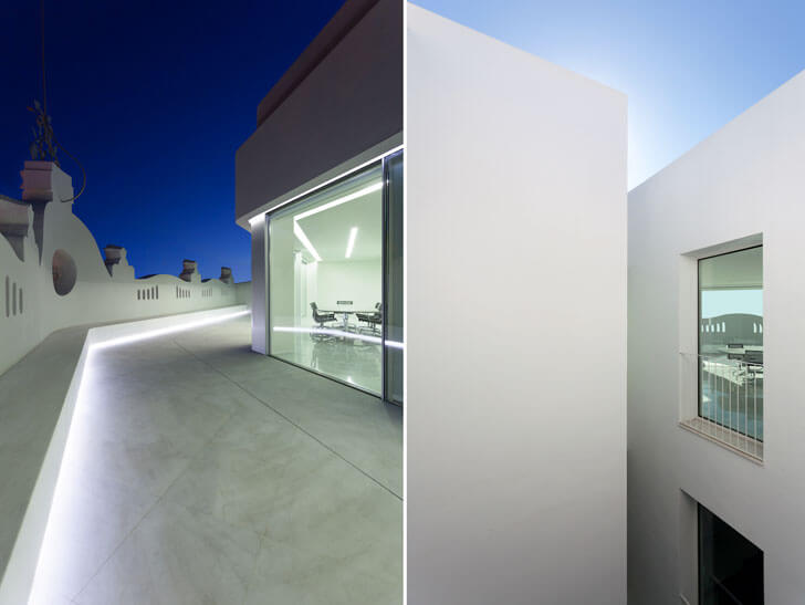 """terrace play of angles valencian architecture fran silvestre architects indiaartndesign"""