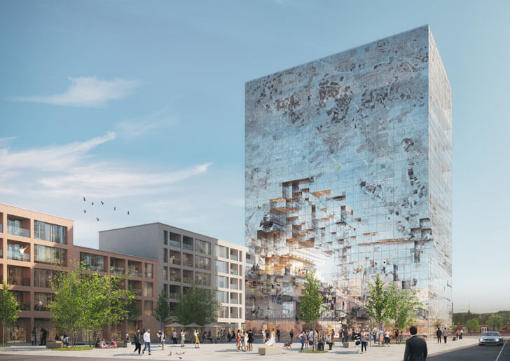 """the milestone esselingen MVRDV indiaartndesign"""