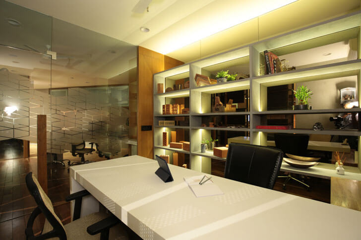 """meeting room brick store modi srivastava architects indiaartndesign"""