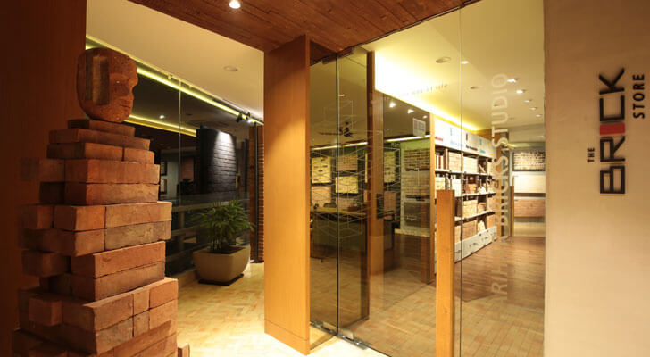 """the brick store modi srivastava architects indiaartndesign"""