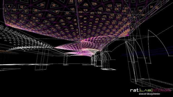 """spatial diagram farzi cafe jaipur ratLAB indiaartndesign"""