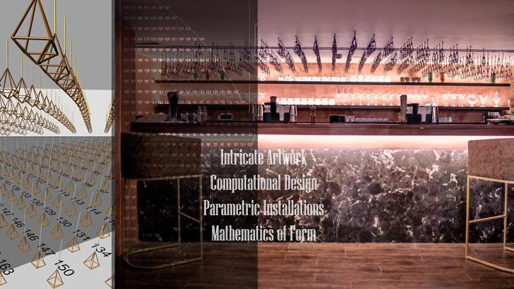 """computational design farzi cafe jaipur ratLAB indiaartndesign"""