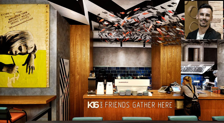 """K16 cafe allartsdesign indiaartndesign"""