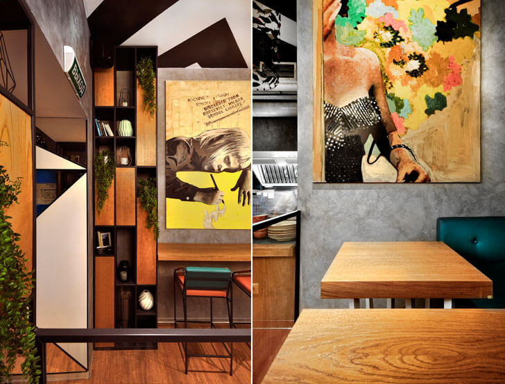 """play of elements K16 cafe allartsdesign indiaartndesign"""
