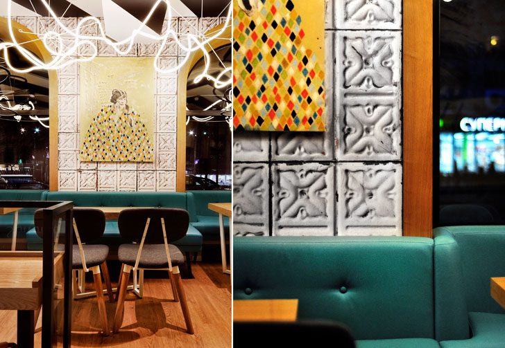 """works of art K16 cafe allartsdesign indiaartndesign"""