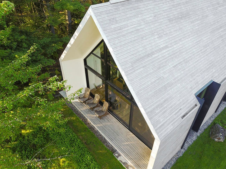 """aerial view window lakeside home yh2 architects indiaartndesign"""